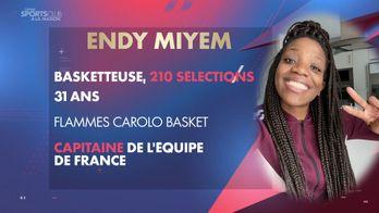 Confiné avec Endy Miyem : Canal Sports Club à la maison