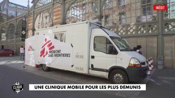 Une clinique mobile pour les plus démunis