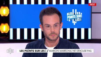 Marion Maréchal ne s'excuse pas