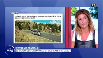 Le boom des caravanes et des camping-cars !