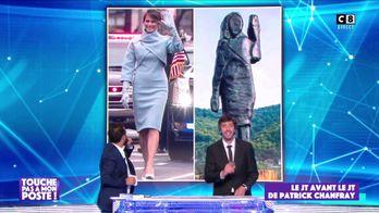 Le JT avant le JT de Patrick Chanfray : Une statue à l'effigie de Melania Trump