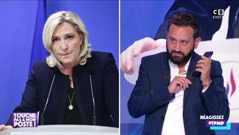 Cyril Hanouna appelle Marine Le Pen en direct dans TPMP