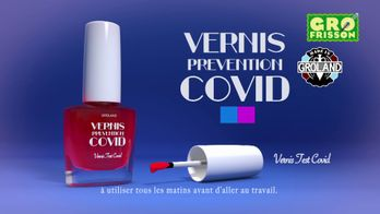 Vernis Covid - Groland - CANAL+