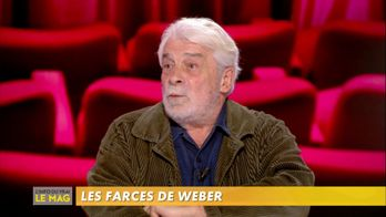 Jacques Weber présente la pièce de théâtre « Crise de nerfs, 3 farces »