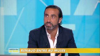 Renaud rentre au musée : « Putain d'expo ! »