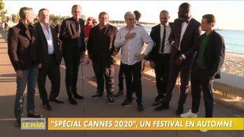 Laurent Weil en duplex de « Spécial Cannes 2020 » pour le film « Un triomphe »