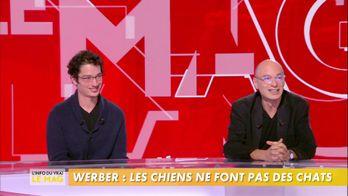 Bernard Werber et son fils Jonathan Werber présentent leurs livres