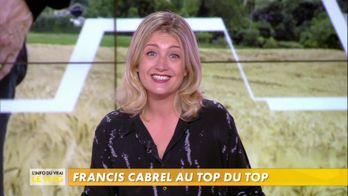 Emilie Mazoyer : la sortie du nouvel album de Francis Cabrel