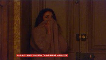 Delphine Wespiser piégée dans un château hanté lors d'une caméra cachée pour La Grande Rassrah