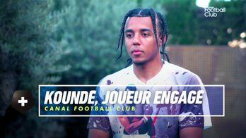 Jules Koundé, joueur engagé : Canal Football Club