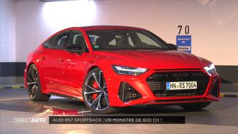 Zone rouge : Audi RS7 Sportback