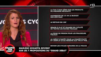 """Marlène Schiappa revient sur les 7 propositions du """"Grand débat"""""""