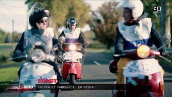 Découverte : Un trajet Paris - Nice... en Vespa !