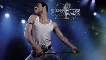 SAG Awards 2019 : la 25e cérémonie couronne Glenn Close et Rami Malek
