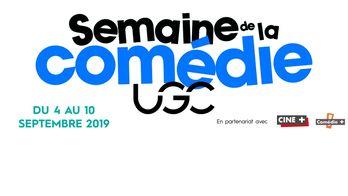Semaine de la comédie UGC du 4 au 10 septembre