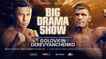 BOXE : LE CHOC GOLOVKIN / DEREVYANCHENKO EN EXCLUSIVITE SUR CANAL+