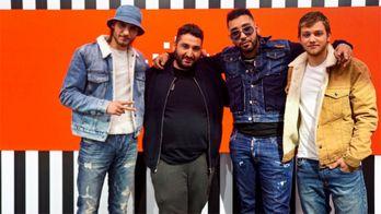 """Le groupe  de rap DTF met le feu au plateau de Clique avec le son """"Atlas"""""""