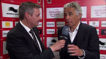 JEAN-PIERRE RIVERE  INVITE DU CANAL FOOTBALL CLUB