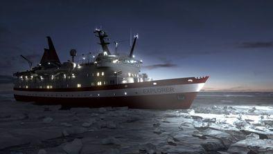 Le MV Explorer