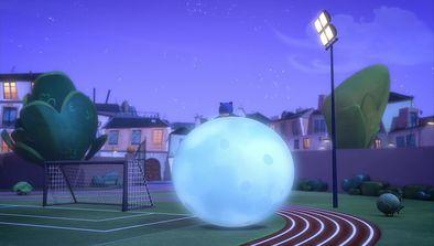 Bibou et le ballon-lune