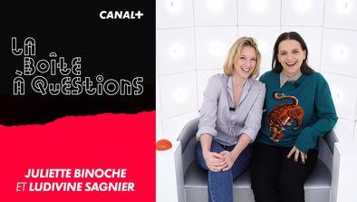 Avec Juliette Binoche et Ludivine Sagnier