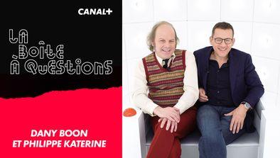 Avec Dany Boon et Philippe Katerine