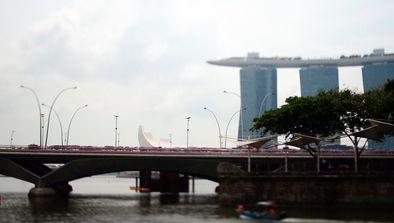 Singapour, le passé colonial
