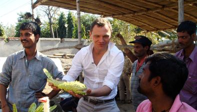 Fred Chesneau en Inde