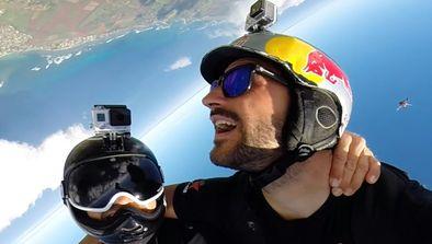 Vol en wingsuit
