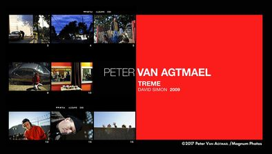 Peter Van Agtmael : «Treme», David Simon