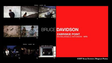Bruce Davidson : «Zabriskie Point», Michelangelo Antonioni