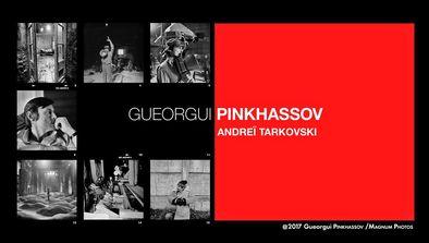 Gueorgui Pinkhassov : Andreï Tarkovski