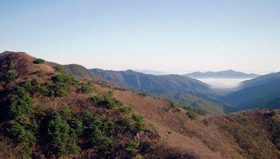Les montagnes de Corée
