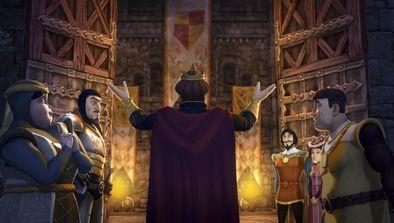 Le siège de Camelot