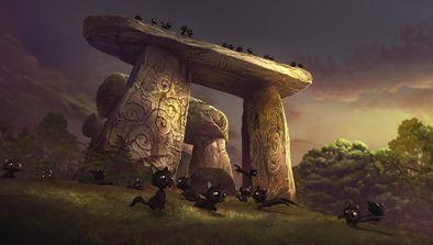 Le dolmen qui chante