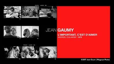 Jean Gaumy, «L'important c'est d'aimer», Andrzej Zulawski