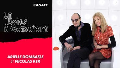 Avec Arielle Dombasle et Nicolas Ker