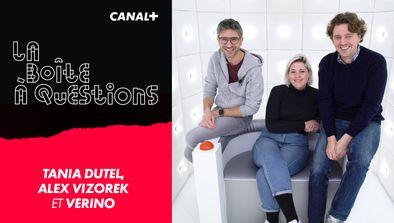 Avec Tania Dutel, Alex Vizorek et Vérino