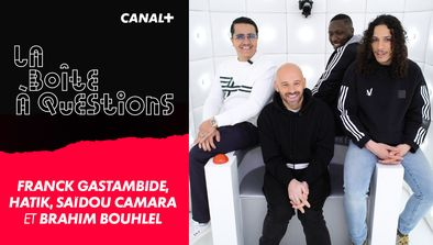 Avec Franck Gastambide, Hatik, Saïdou Camara et Brahim Bouhlel