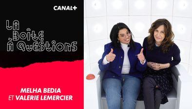 Avec Melha Bedia et Valérie Lemercier