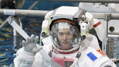 A bord de l'ISS