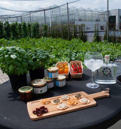 Les produits cultivés à la ferme BIGH de Bruxelles.