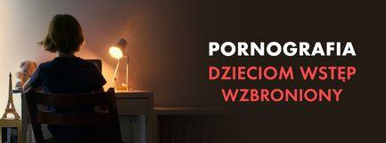 Pornografia - dzieciom wstęp wzbroniony