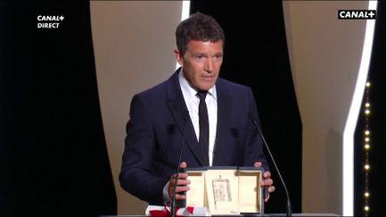 Prix d'Interprétation Masculine pour Antonio Banderas pour Douleur et Gloire
