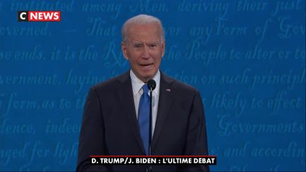 Les temps forts de Joe Biden pendant le 2e débat