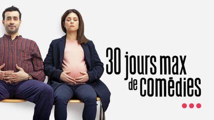 30 jours max de comédies