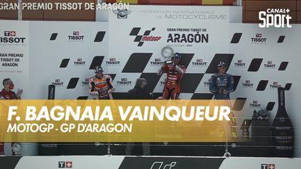 Bagnaia remporte de le GP d'Aragon