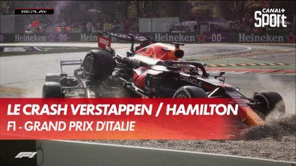 L'accident de l'année ! Crash entre Verstappen et Hamilton !
