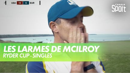 Enorme émotion pour Rory McIlroy