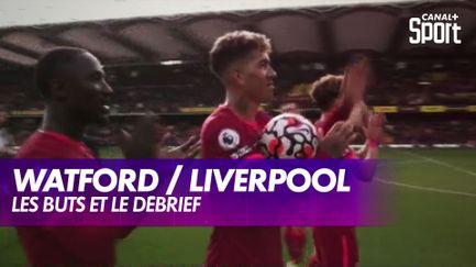 Les buts de Watford / Liverpool